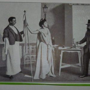 Le pauvre bougre et le bon génie, photo de la pièce.