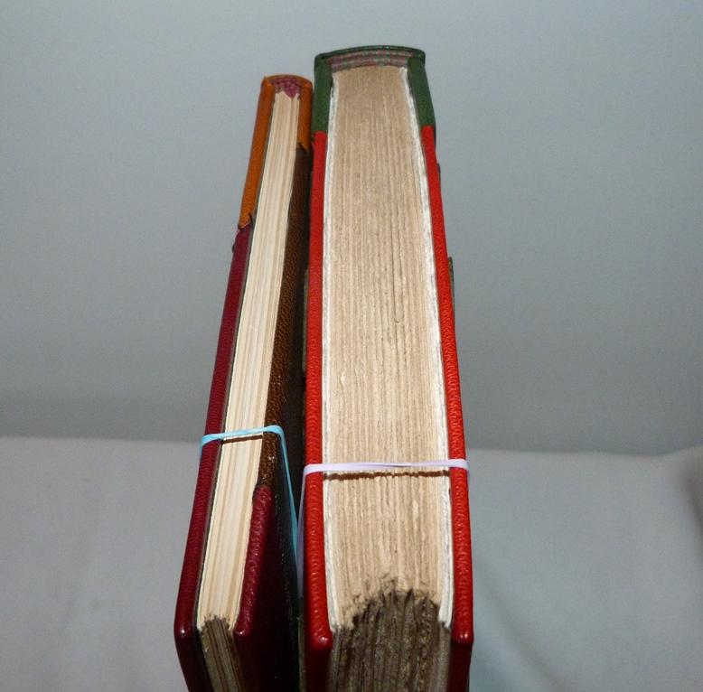 Le poème pulvérisé 3, épaisseur des livres.