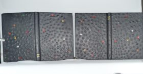 Carnets de notes (2004-2005), les reliures.