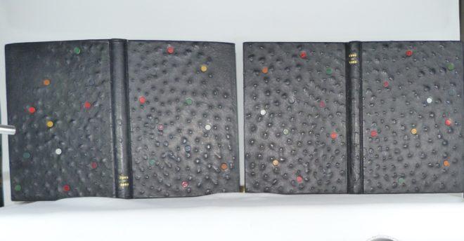 Carnets de notes (2004-2005), les reliures.
