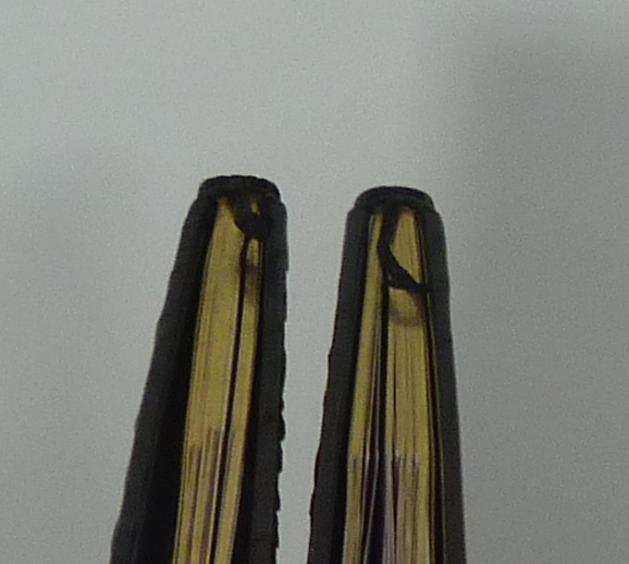 Carnets de notes (2004-2005), tranchefile cuir.