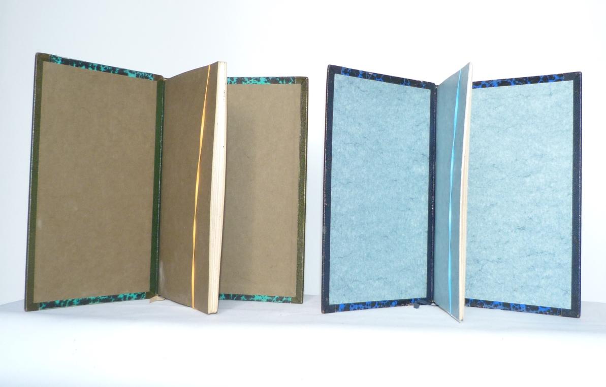 Carnets de notes (1989-1990), gardes.