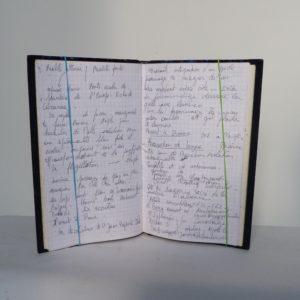 Carnets de notes (1989-1990), notes.