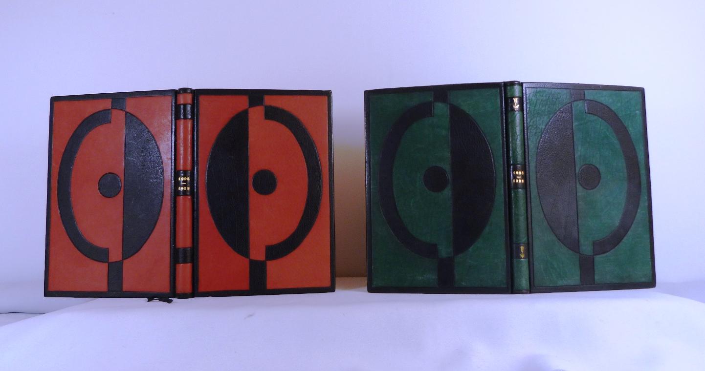 Carnets de notes (1988-1989), les deux.