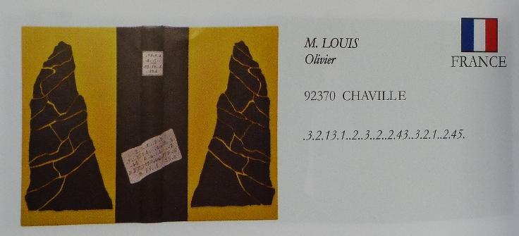 L'aiguille creuse de Maurice Leblanc, lettre de menace.
