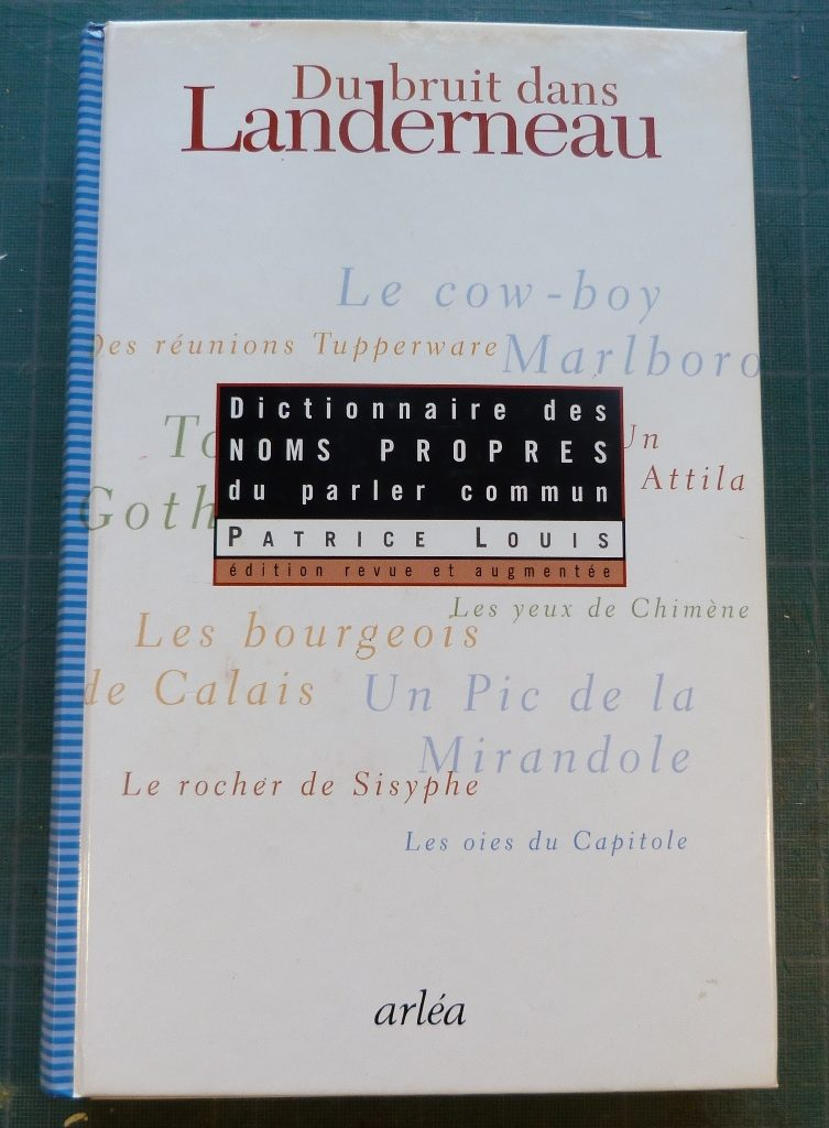 Du bruit dans Landerneau, autre édition.