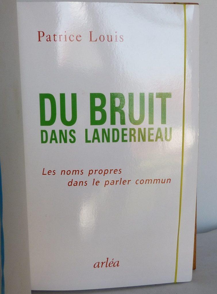 Du bruit dans Landerneau, une de couverture.