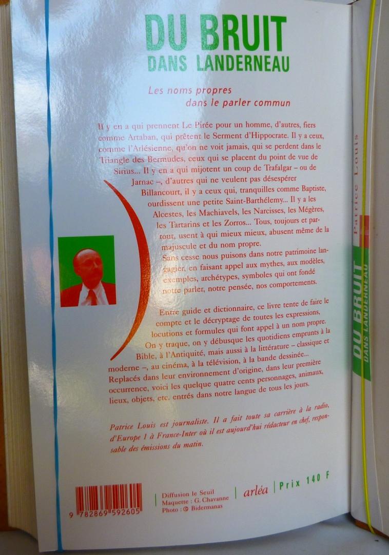 Du bruit dans Landerneau, résumé du livre.