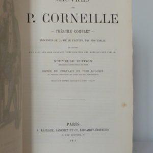 Trois classiques, Corneille.