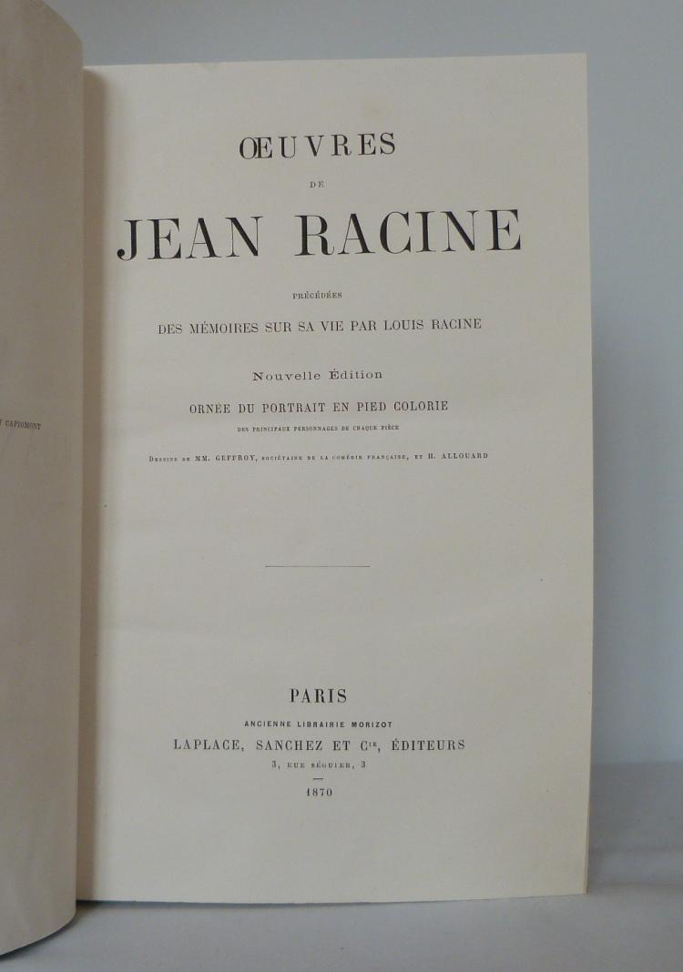 Trois classiques, Racine