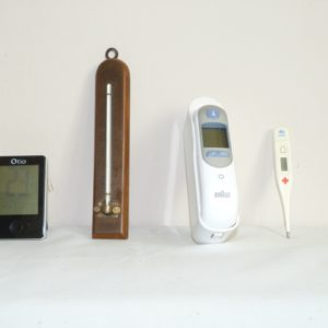 Carnet de notes (2005-2006), thermomètres