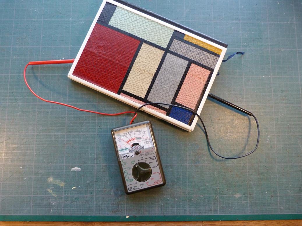 Carnets de notes (1994-1995), expérience de conductivité.