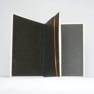 Carnets de notes (1994-1995), gardes.