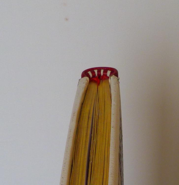 Carnets de notes (1994-1995), tranchefile cuir.