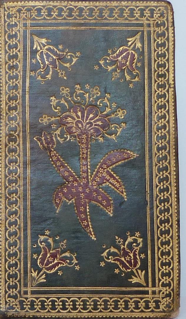 Paroissien Romain de 1789, décor recto.