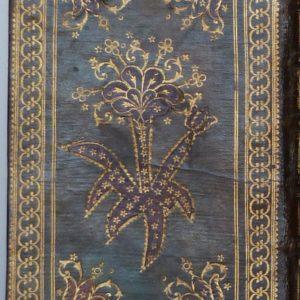 Paroissien Romain de 1789, décor verso.