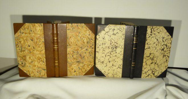Carnets de notes (1991-1992), les deux.