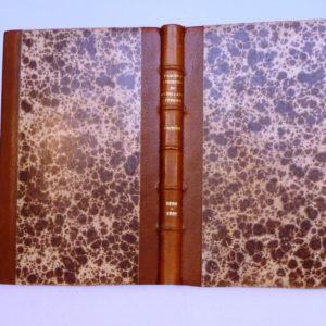 Carnets de notes (1990-1991), le marron.
