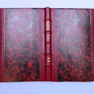 Carnets de notes (1990-1991), le rouge