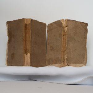Papier cuve 18ième siecle, première utilisatio.
