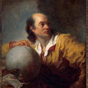 portrait de Lalande par Fragonard.
