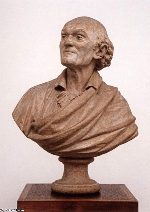Buste de Lalande par Houdon.