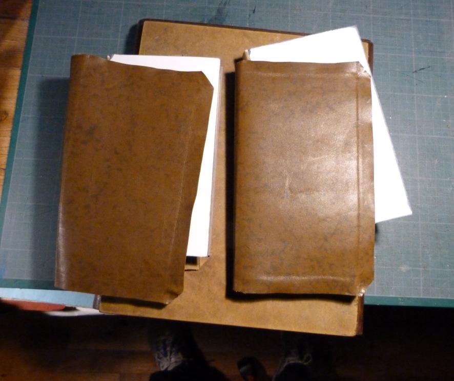 Fabrication d'une copie, le cuir.
