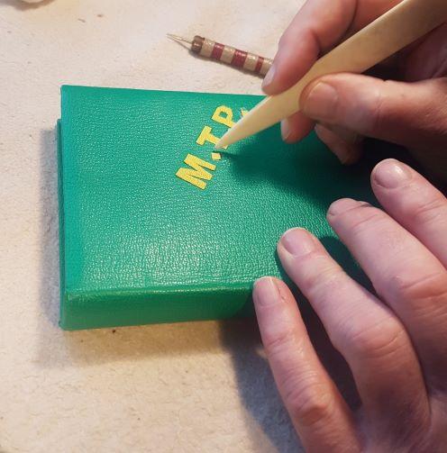 Fabrication de la mosaïque.