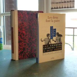 Comparaison entre le livre et ce qu'il est devenu après reliure.