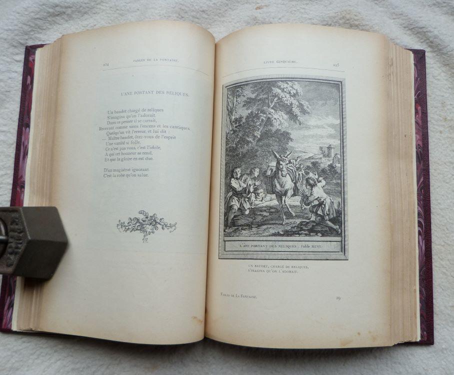 """""""Lafontaine"""" par Armande L, illustration de J.-B. Oudry."""