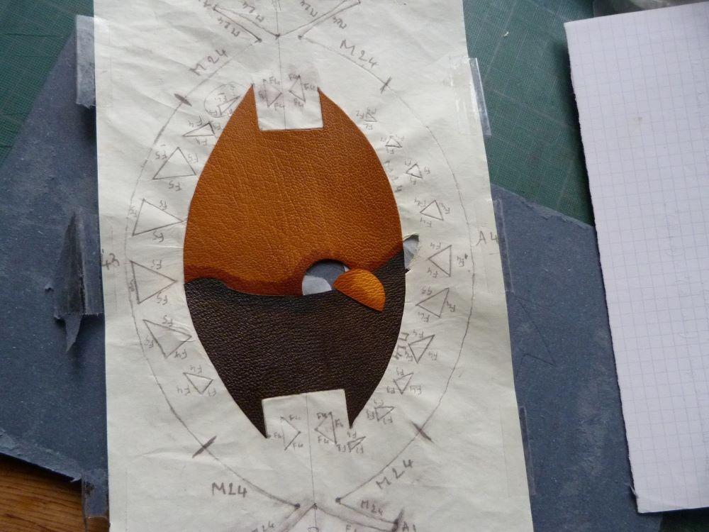 Biennale 2021 épisode 8, collage du soleil définitif..
