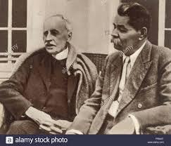 Photo de Romain Rolland avec Gorki.