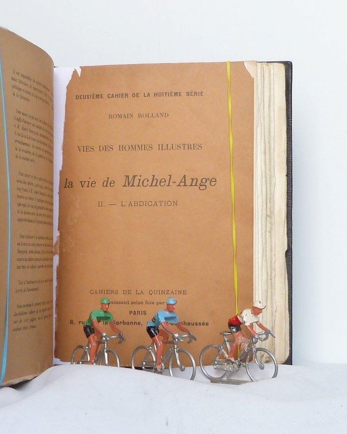 Vie de Michel-ange, une de couverture.