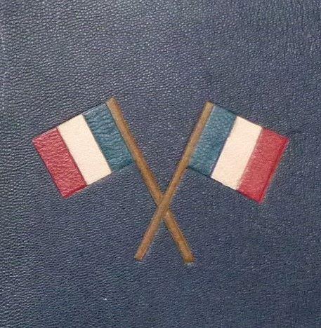 Paul Déroulède : Refrains militaires, détail du décor.