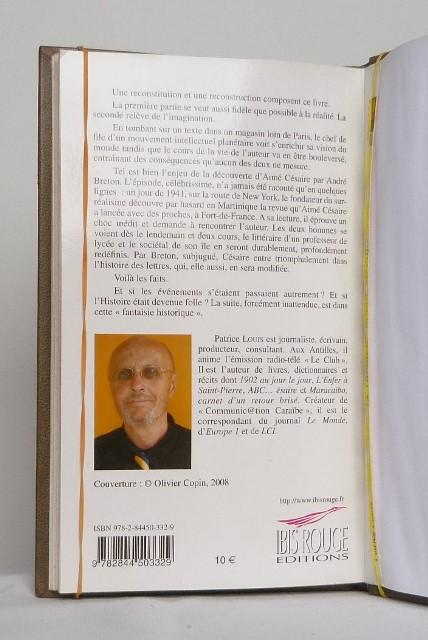 Le ruban de lafille du pape, 4 de couverture.