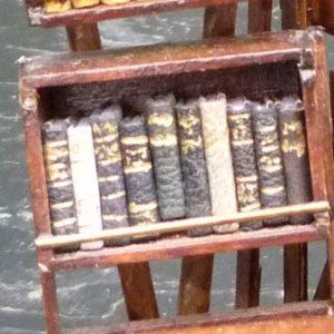 I) - Mini-bibliothèque à caissons, les caissons