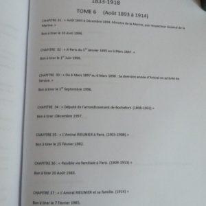 Table des matières.