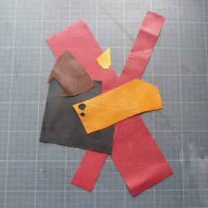 Biennale 2021, épisode 11 : échantillons des couleurs utilisées.