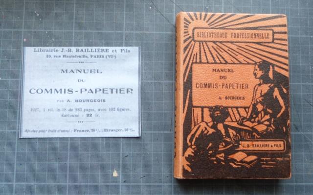 Manuel du commis papetier.