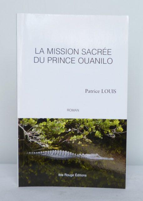La mission sacré du prince ouanilo, une de couverture.