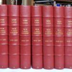 Comment relier 2552 feuilles en 7 demi-cuir in 4°, 5) : Les sept tomes