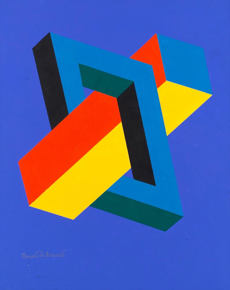 Pseudo-triangle de Penrosed'Oscar Reutersvard.